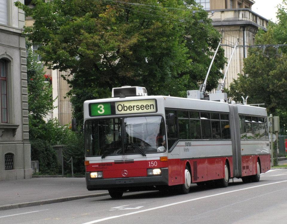 Winterthur Mercedes ABB O405 GTZ trolleybus