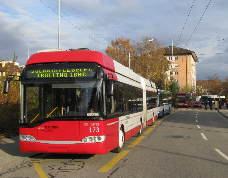 solaris cegelec trollino 18ac trolleybus