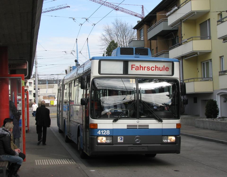 GTZ driver trainer trolleybus 4128 ex 33