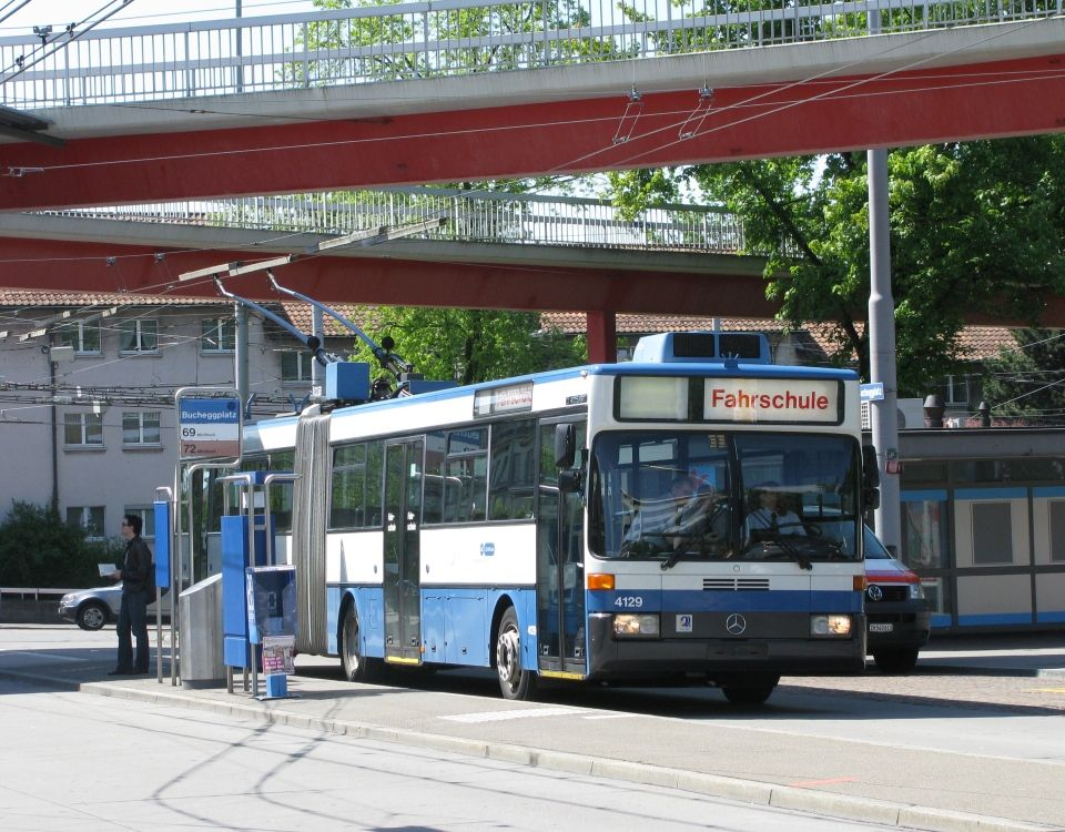 GTZ trolleybus Bucheggplatz