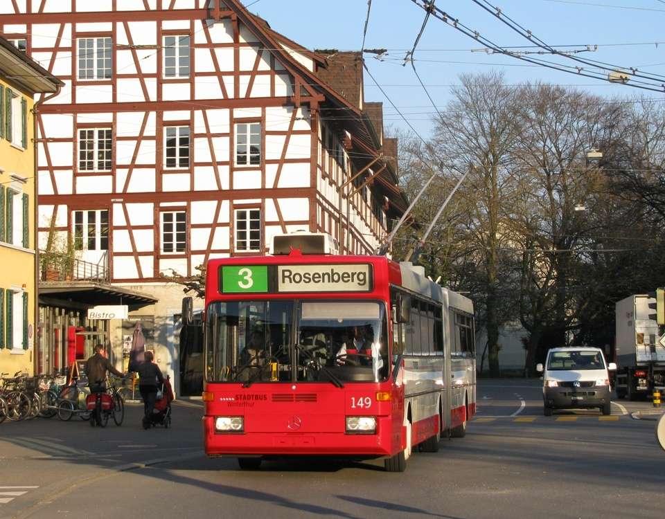 Rosenberg trolleybus