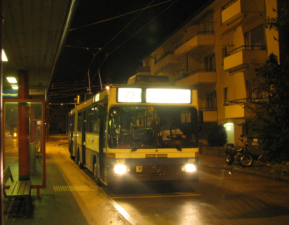 GTZ trolleybus 106