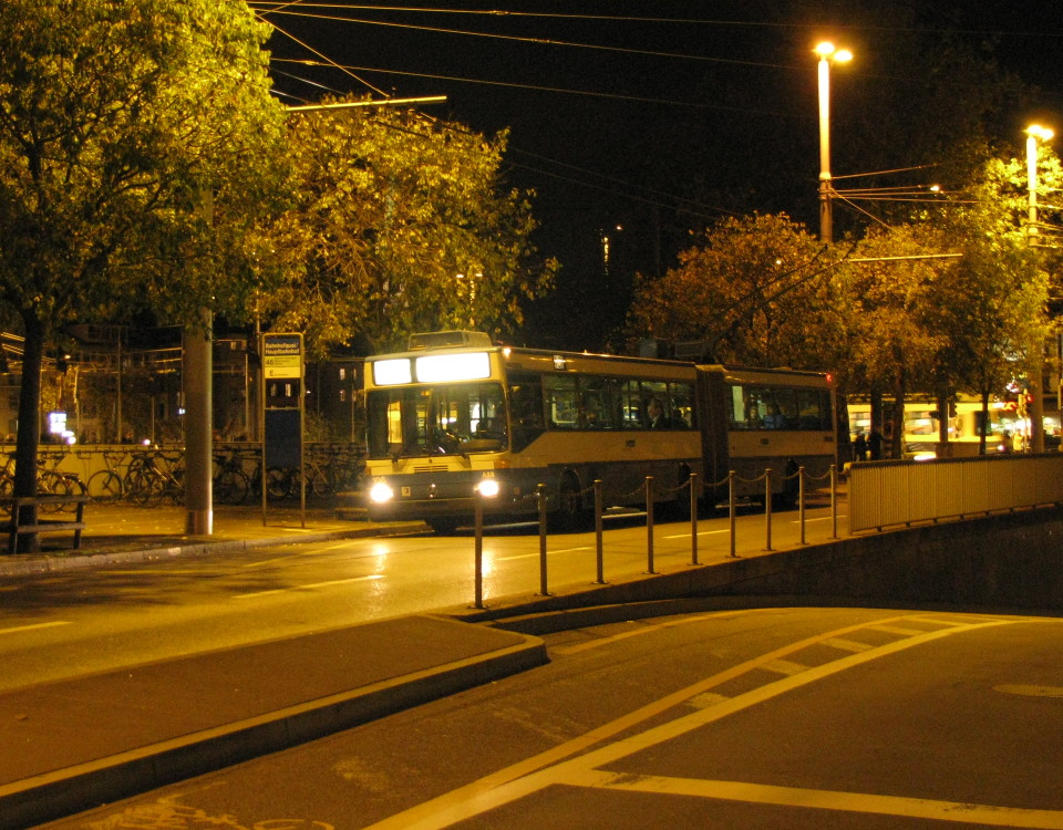 GTZ trolleybus 106 Bahnhofquai