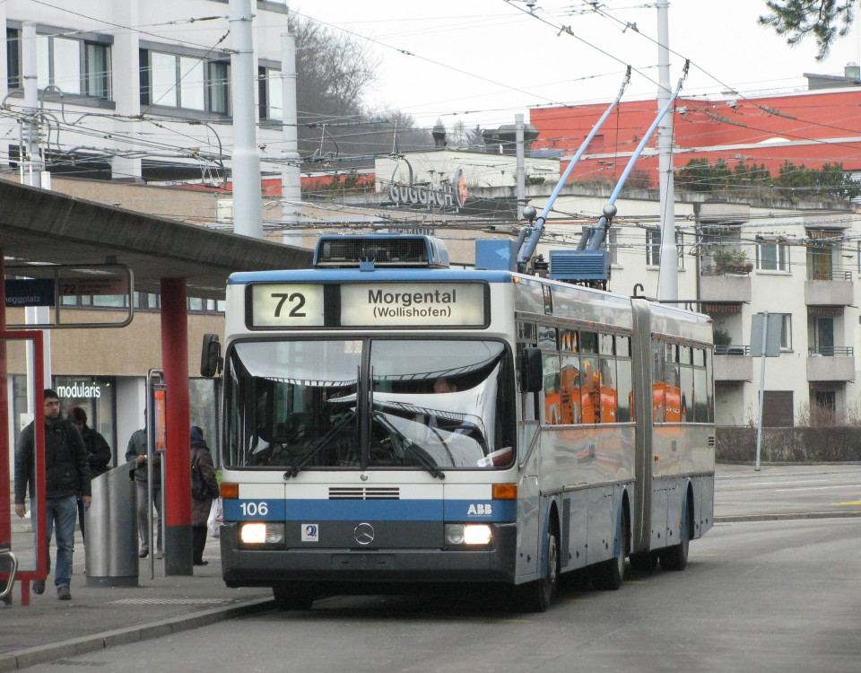 GTZ 106 at Bucheggplatz