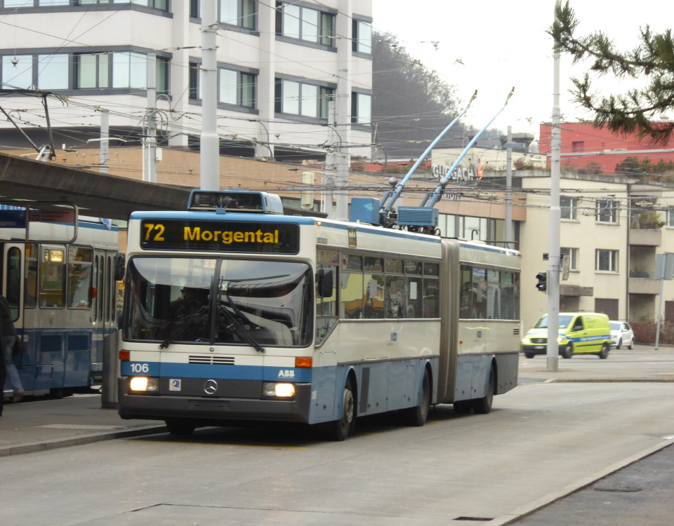 GTZ 106 trolleybus