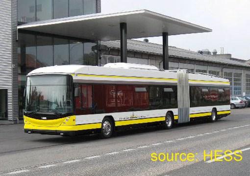 Hess trolleybus Schaffhausen