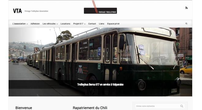 VTA trolleybus 317 valparaiso genene