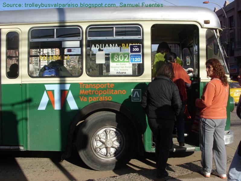 Trolleybus Valparaiso